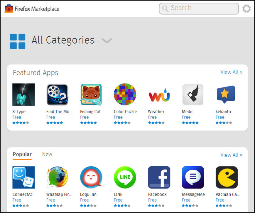 LINE shines in the Firefox Marketplace