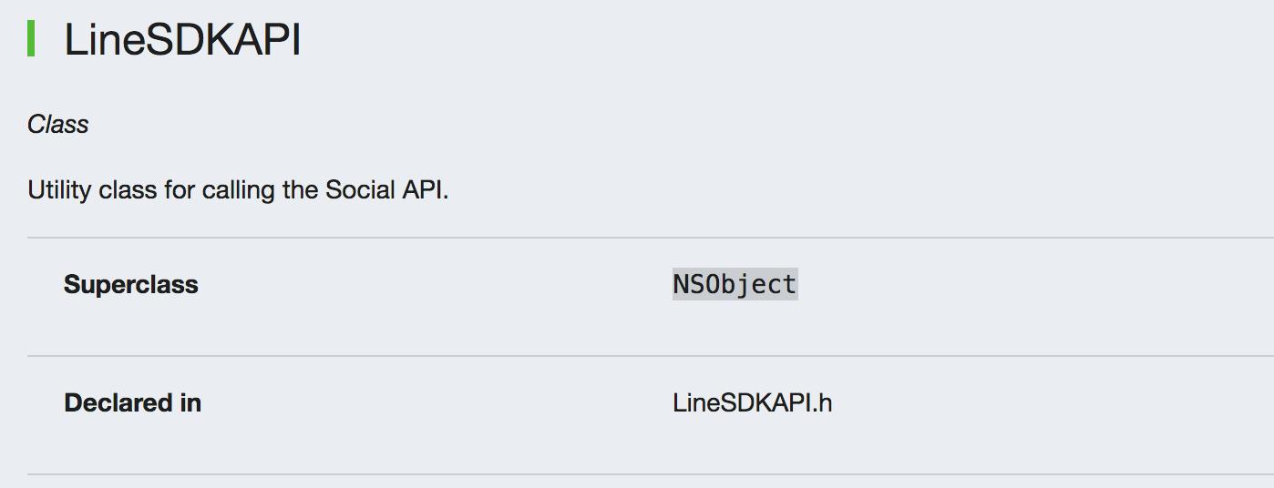 Custom element applied on LINE Developers site