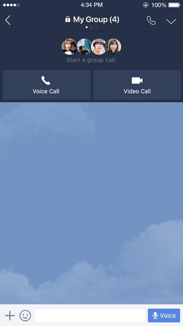 LINE Group Call - Conference calls with up to 200 people - LINE