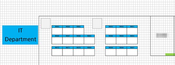 Floor map management system on web, with Leaflet - LINE