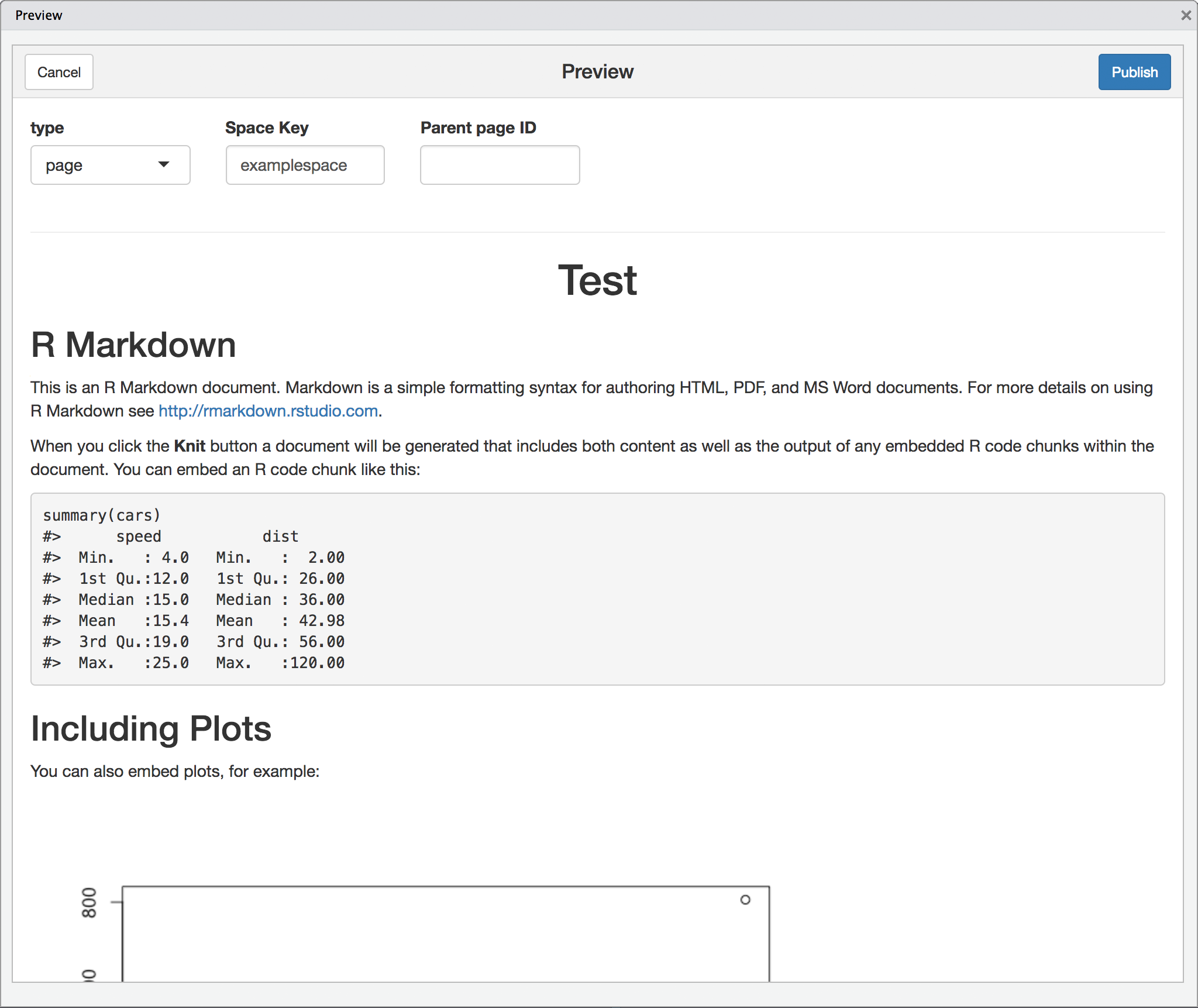 conflr: Publishing R Markdown documents on Confluence - LINE ENGINEERING
